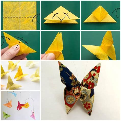 diy beautiful origami butterfly
