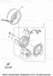 Yamaha Atv 2000 Oem Parts Diagram For Generator