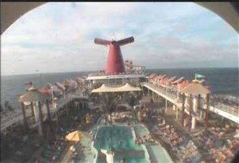 carnival fantasy deck aft webcam camera everything