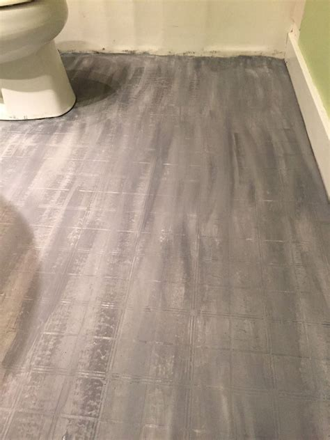 Floor Tile Paint For Bathrooms by Hometalk Bathroom Floor Tile Or Paint