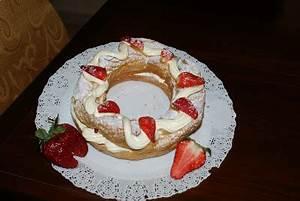 La Pasta Brest : sfizi in tavola torta paris brest alle mandorle con crema chantilly e lamponi ~ Medecine-chirurgie-esthetiques.com Avis de Voitures
