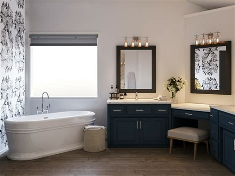 luxury master bathroom  interior
