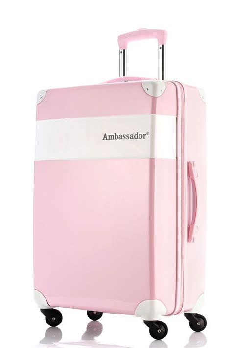 Ambassador Modern Series Retro Carry On 20 Suitcase