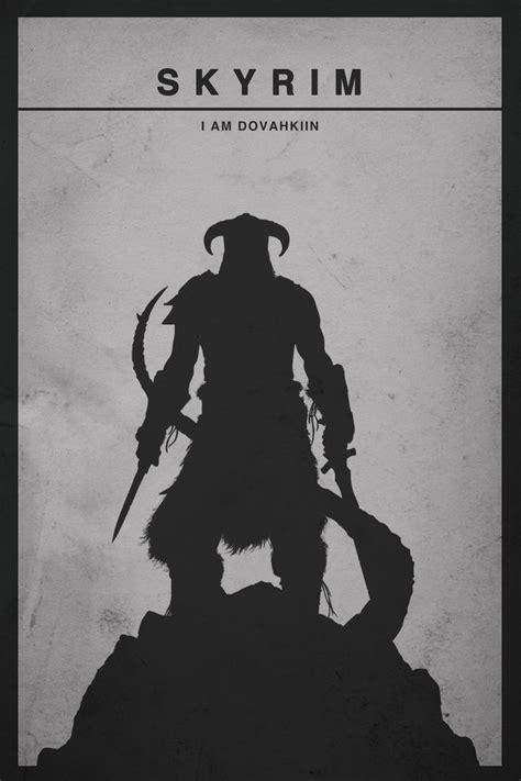 Minamalist Video Game Posters Modern Borefare