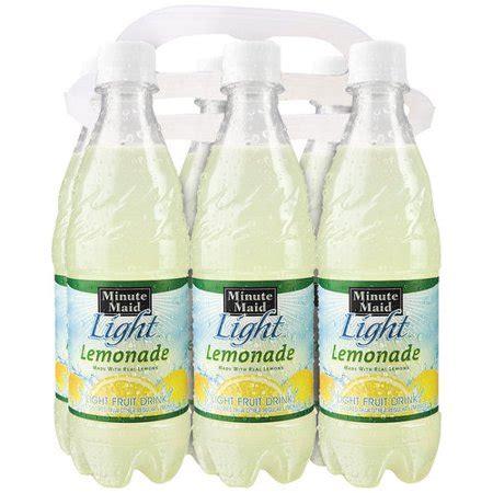 minute light lemonade minute light lemonade 16 9 fl oz 6 count walmart