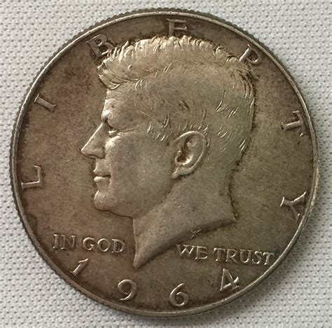 kennedy half dollar 1964 1964 d kennedy half dollar for sale buy now online item 95395