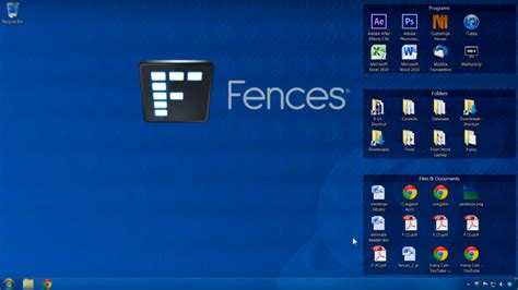 fences organiser votre bureau windows mais pas que