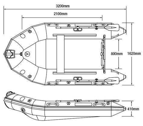 Rib Boat Dimensions by Dropshot