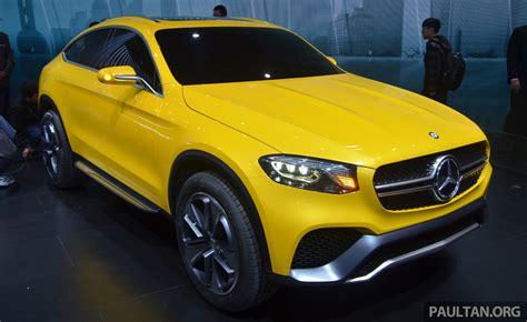 Shanghai 2018 Mercedes Benz Concept Glc Coupe Image 330537