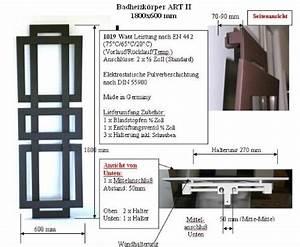 Heizkörper Watt Berechnen : badheizk rper design art ii hxb 180 x 60 cm 1019 watt dunkelgrau metallic marke szagato ~ Themetempest.com Abrechnung