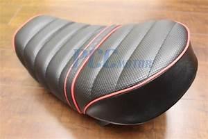 Honda Monkey Z50 50cc 50 Black Fat Seat Z50j Bike Se34
