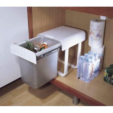 poubelle cuisine coulissante sous evier poubelle coulissante sous evier 34l manuelle accessoires