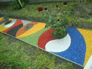 Dekosteine Für Garten by Dekosteine Farbig Au 223 En Garten Deko Kies Gartenkies