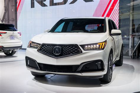 2019 Acura MDX White : 2019 Acura Mdx A-spec Debuts At 2018 New York Auto Show