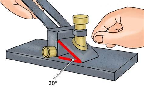flatten  sharpen bench plane irons