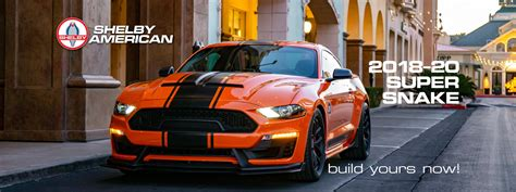 shelby super snake mustang supercharged