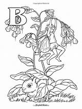 Coloring Pages Fairy Alphabet Flower Magic Books Murakami Coloriage Takashi sketch template