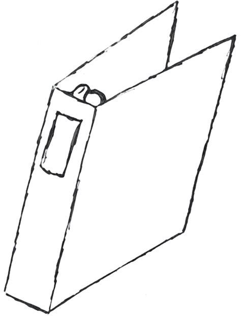 binder clipart black and white binder white clipart