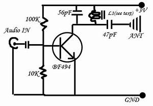 the simplest fm transmitter ever made With fm voice transmitter
