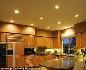 Lighting kitchen family room pinterest for Kitchen spotlight lighting