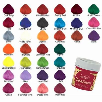 Directions Permanent Dye Semi Riche Colour Colours
