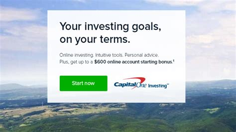 65809 Capital One Investing Promo Code by Capital One Investing Review 600 Bonus Promotion
