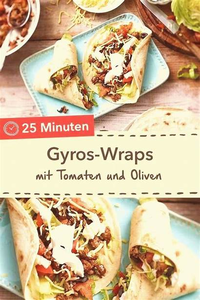 Gyros Wraps Essen Wrap Gyro Partyrezept Griechische