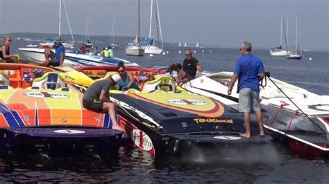 Muskegon Powerboat Weekend Poker Run 2017 Youtube