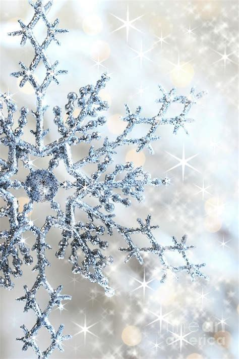 Glitter Snowflake Background by Wedding Belts Dress Sashes More Plus
