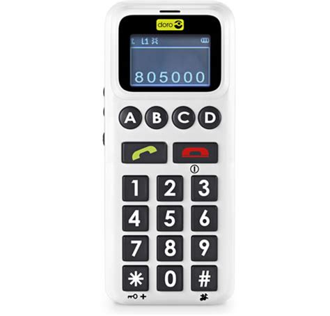 simple mobile phones doro handleeasy simple mobile phone