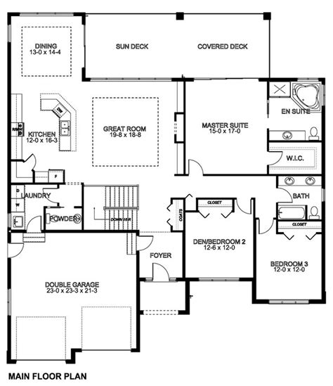 simple open house plans 34 best 5 bedroom house plans images on house