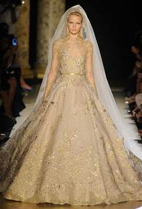 Gold wedding dresses a trusted wedding source by dyalnet for Golden dresses for a wedding