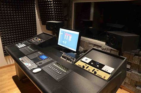 music studio desk workstation home music studio desk home furniture design