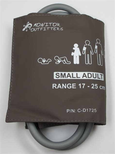 Cuff, Blood Pressure, Small Adult, Double Tube 20-28 cm