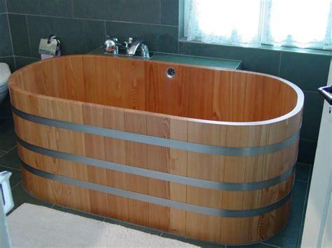 baignoire bois 151 x 73