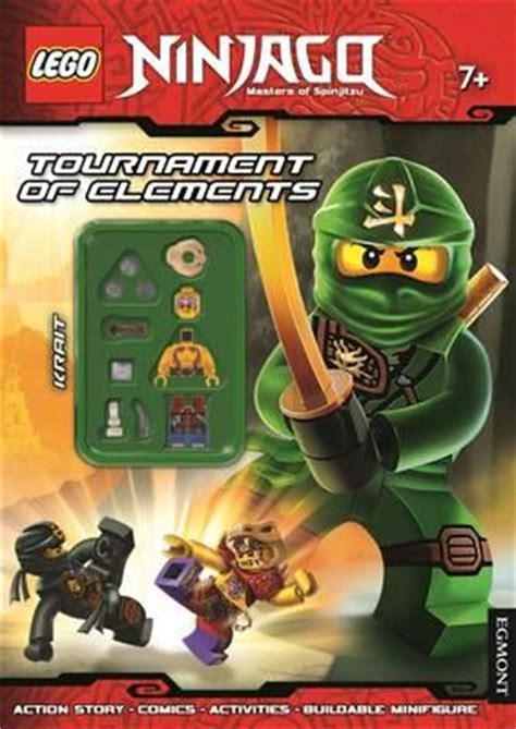 lego ninjago tournament  elements activity book