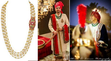 Wedding Accessories For Indian Groom : Jewels For The Indian Groom