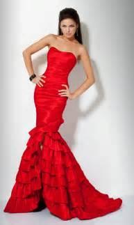 red mermaid prom dress best dress choice