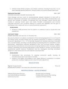 program development specialist resume education program specialist resume bestsellerbookdb
