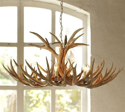 faux antler chandelier faux antler chandelier eclectic chandeliers by