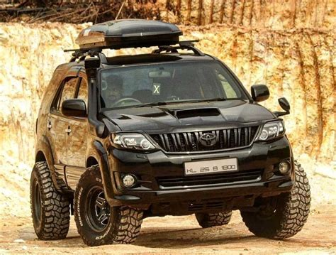 Toyota fortuner prestige design projects a high attitude that combined with a strong impression that astounds the road. You Cannot Ignore This Toyota Fortuner When It Prowls On ...