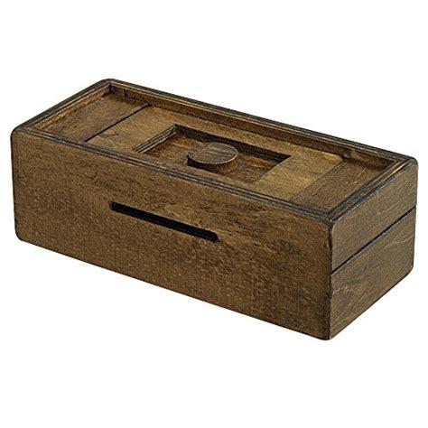puzzle secret box wooden stash brain boxes compartment cash brainteaser adults bits pieces game money toys puzzles amazon gift wood