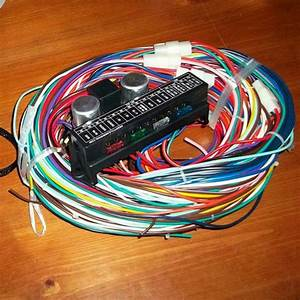 New 12v 24 Circuit 15 Fuse Street Hot Rat Rod Wiring