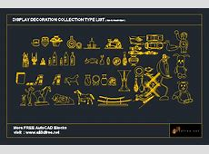 AutoCAD display decoration Set Collection