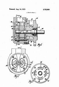 Patent Us3752609 - Vane Pump With Fluid-biased End Walls