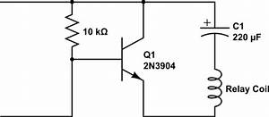 transistors mystery circuit latching relay control with With circuit on off latch circuit