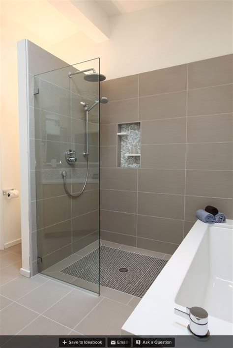 amusing size for bathroom shower tile bathtub wall different size tile on curbless shower looks like 2ft glass off wall shower indoor