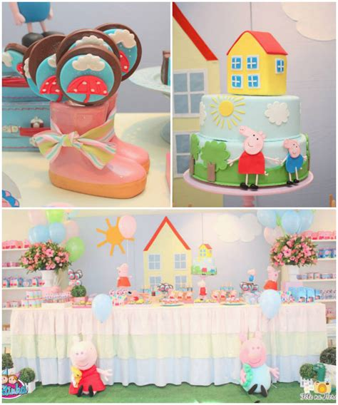 kara s ideas peppa pig themed birthday via kara s ideas karaspartyideas