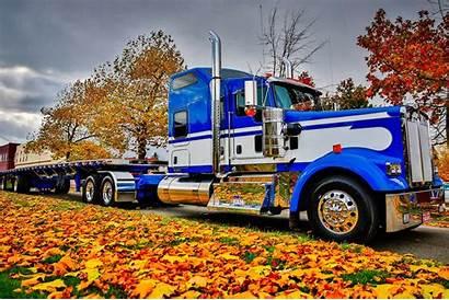 Truck Kenworth Trucks Wallpapers Peterbilt Desktop Backgrounds
