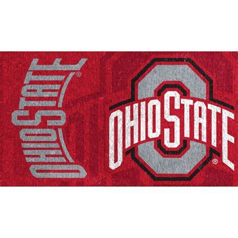 Ohio State Doormat by Evergreen Ohio State Welcome Mat Door Mats More Shop